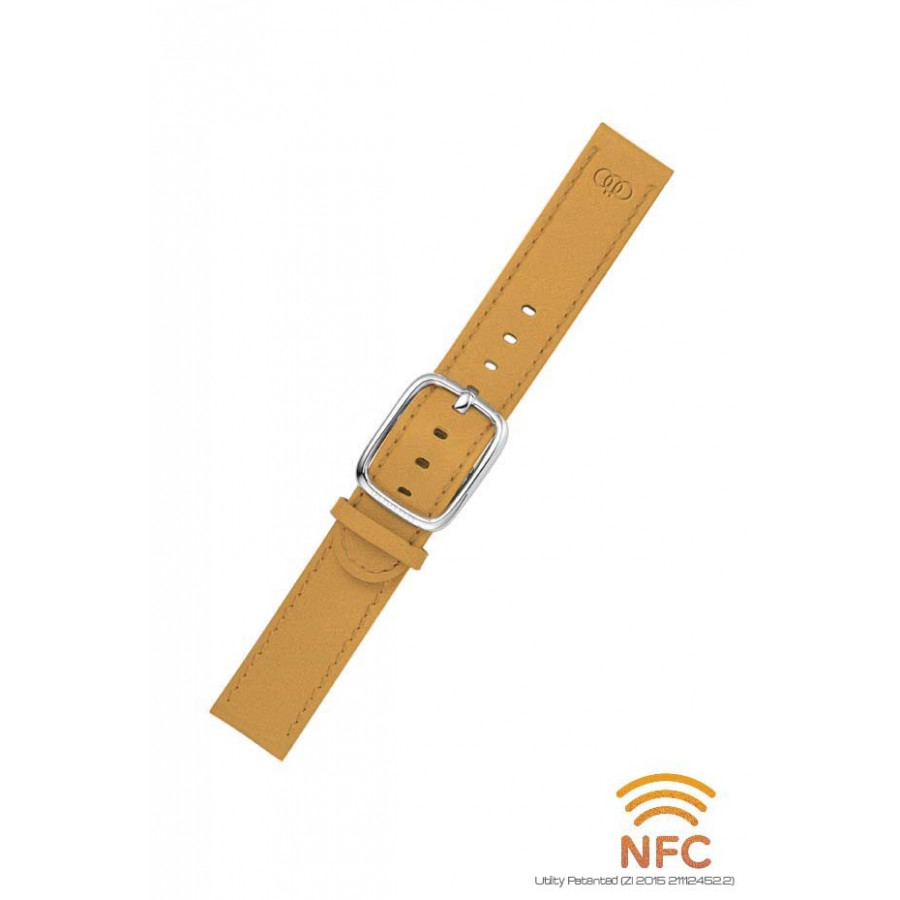NFC Tan Leather Strap